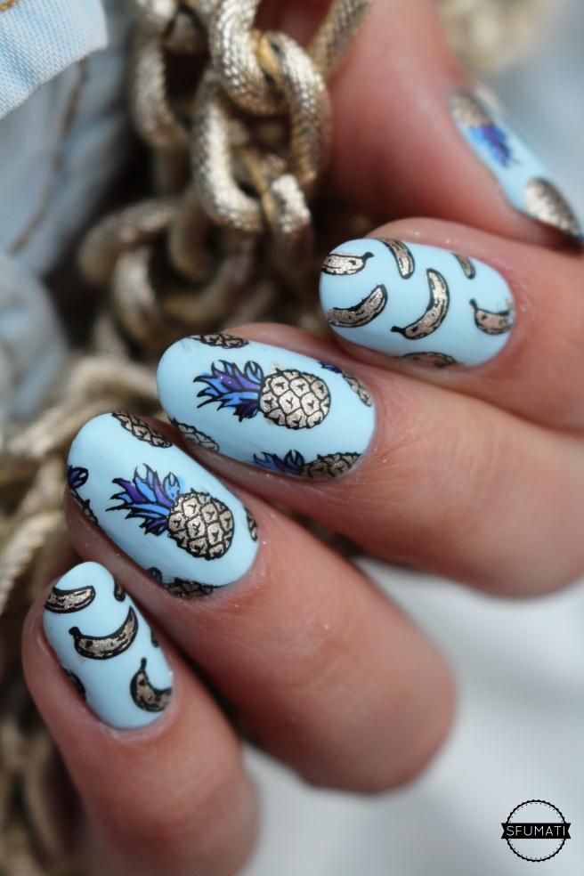 nail-art-ananas-1