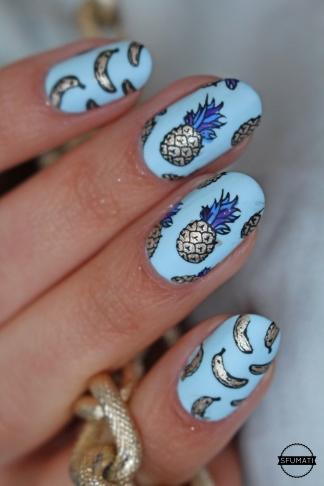 nail-art-ananas-2